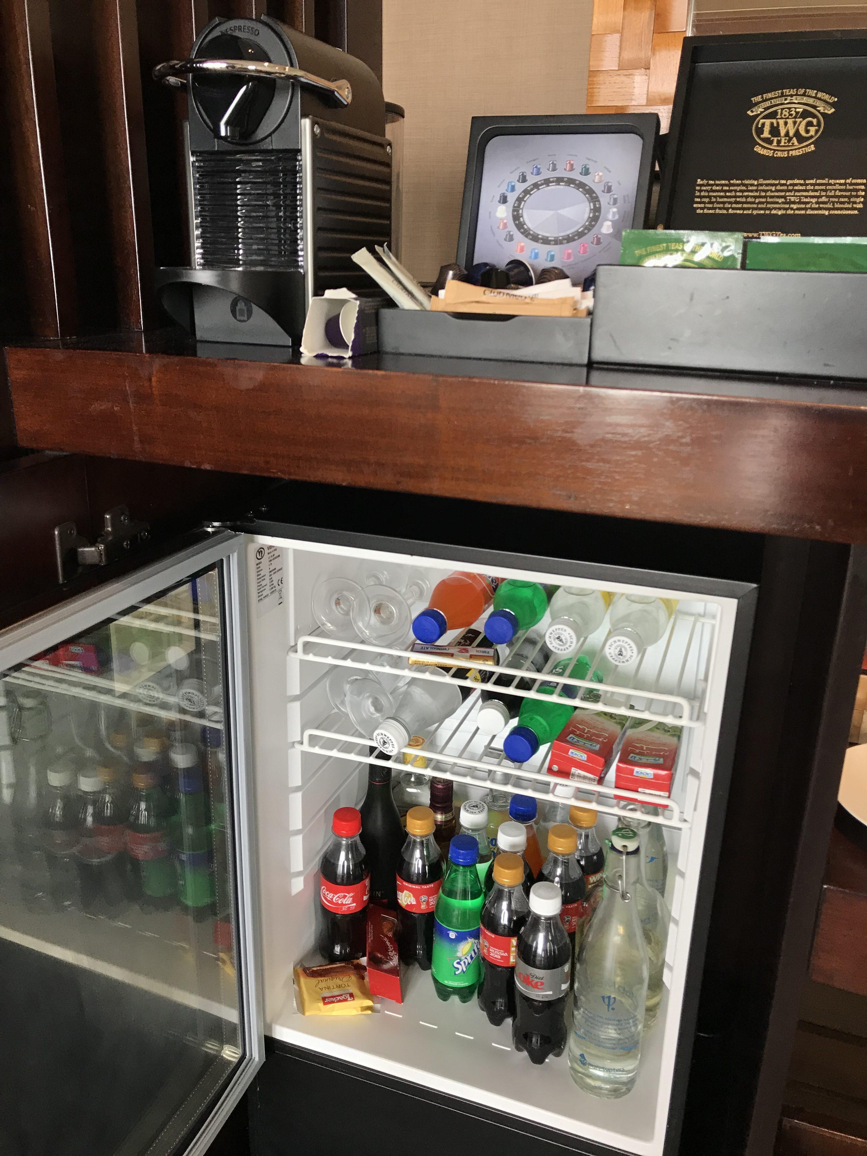 クラブメッドフィノールの冷蔵庫