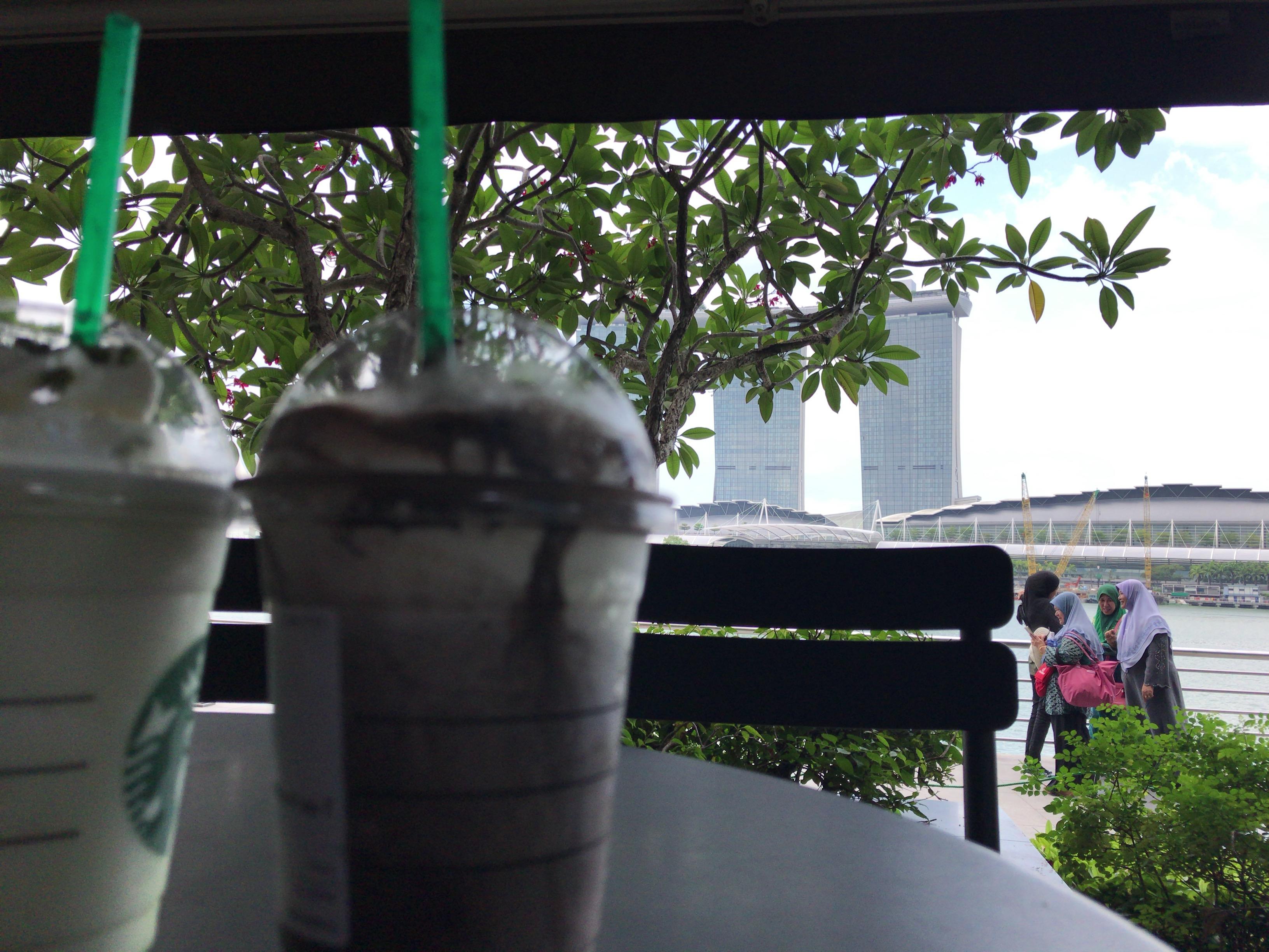 シンガポールのスタバ