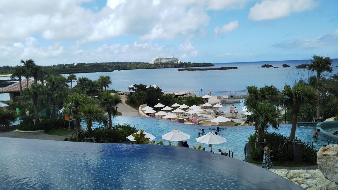ハイアットリージェンシー瀬良垣アイランド沖縄の風景