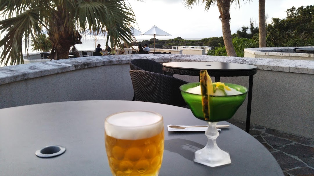 沖縄でビール